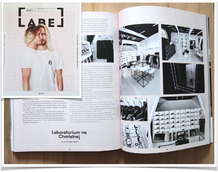 Magazyn Label - nowe wnętrzę dla butiku CL20